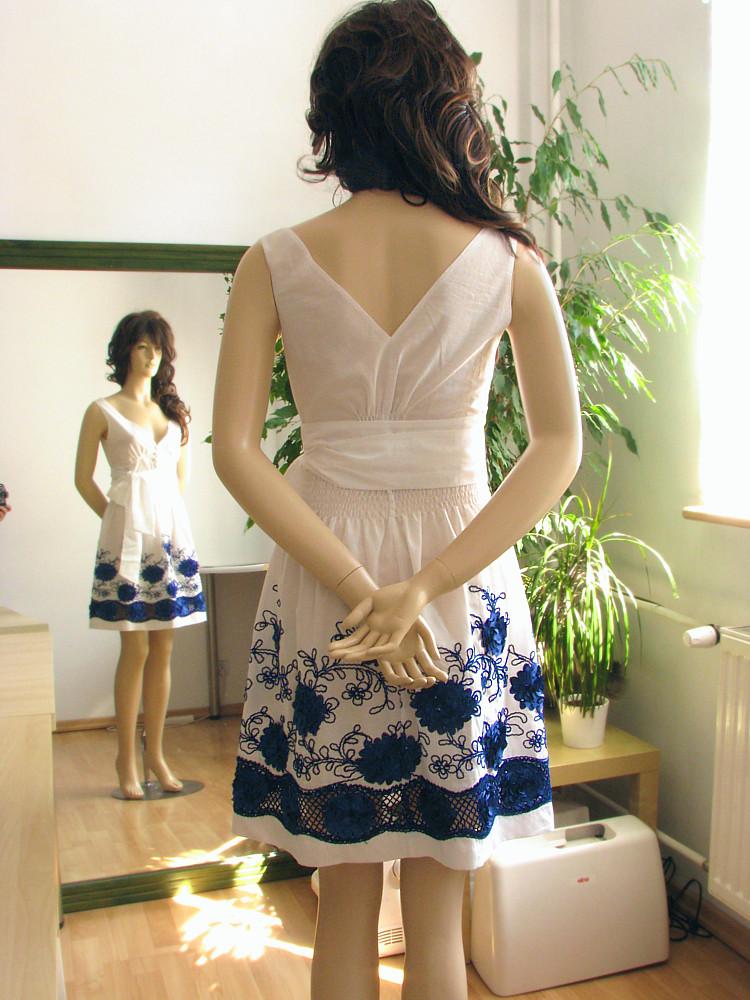 Kurs szycia - spódniczka i bluzka z batystu