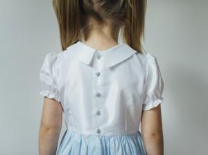Kursz szycia - sukienka dla dziewczynki - wersja bez dodatkowej falbany