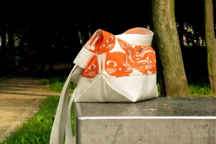 Pakowna torba na zakupy (tutorial)