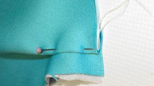 Szycie kosmatyczki,odszywanie i formowanie kieszonki