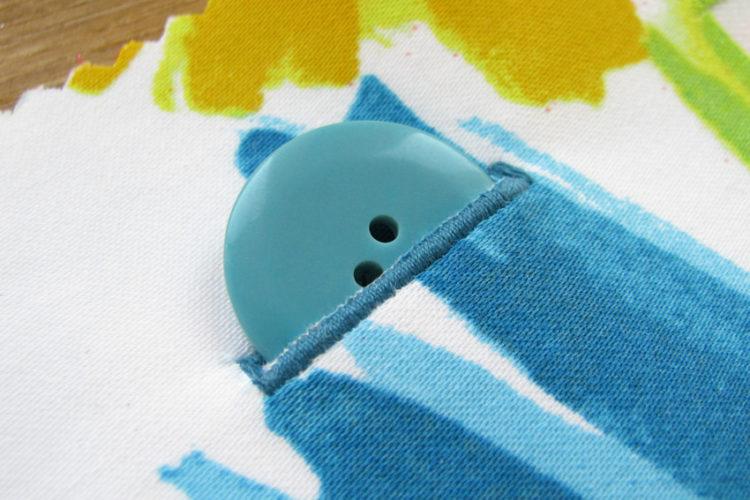 Jak na maszynie wykonać dziurki pod guziki (tutorial)
