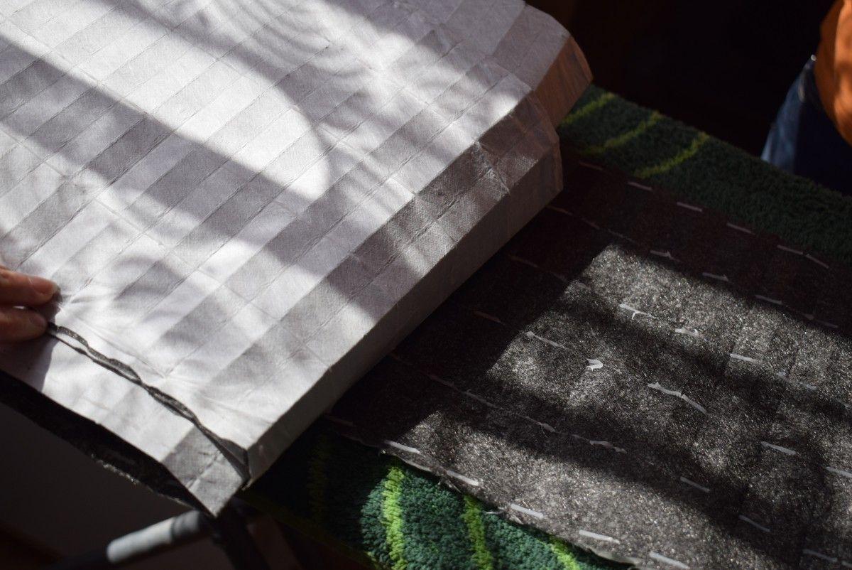 Filtr HEPA do maseczek bawełnianych ochronnych - wyciągnięty z oczyszczacza