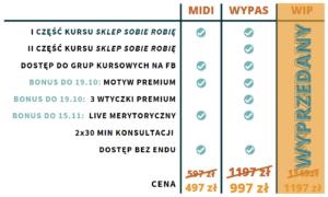 Tworzenie sklepu internetowego na WordPressie - porównanie pakietów